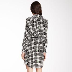 Trina Turk Dresses - Trina Turk Silk Dress Button Front - Size 8